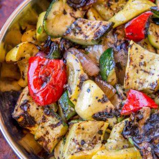 Grilled Vegetables in bowl