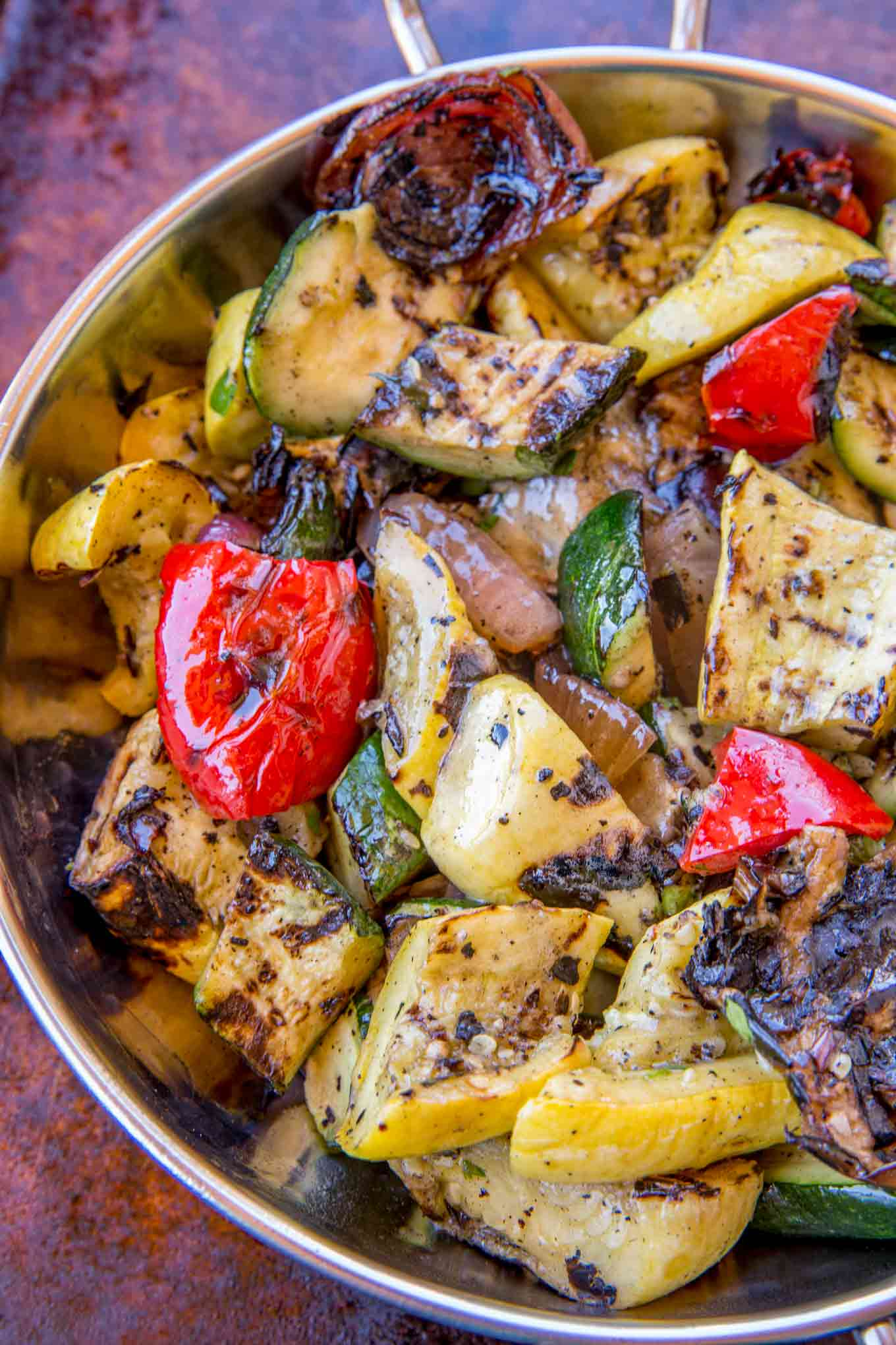 Grilled Vegetables in bowl