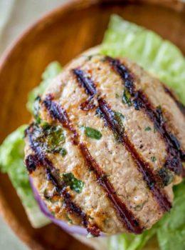 turkey burger patty