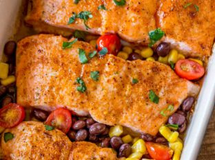 Honey Chili Salmon