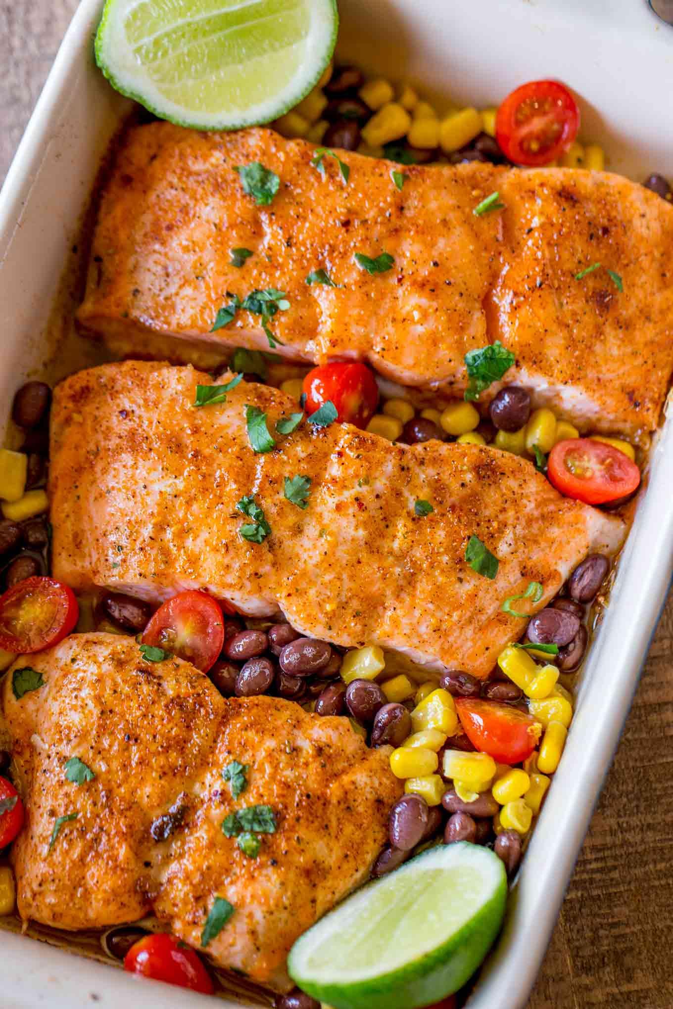 Honey Chili Salmon