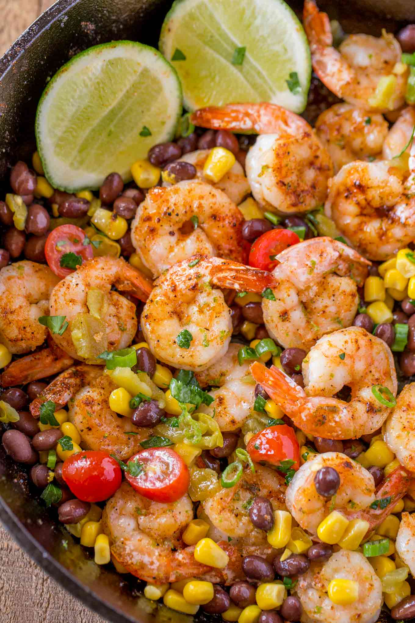 Mexican Shrimp with vegetables