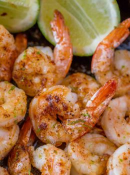 Honey Lime Shrimp with Chili