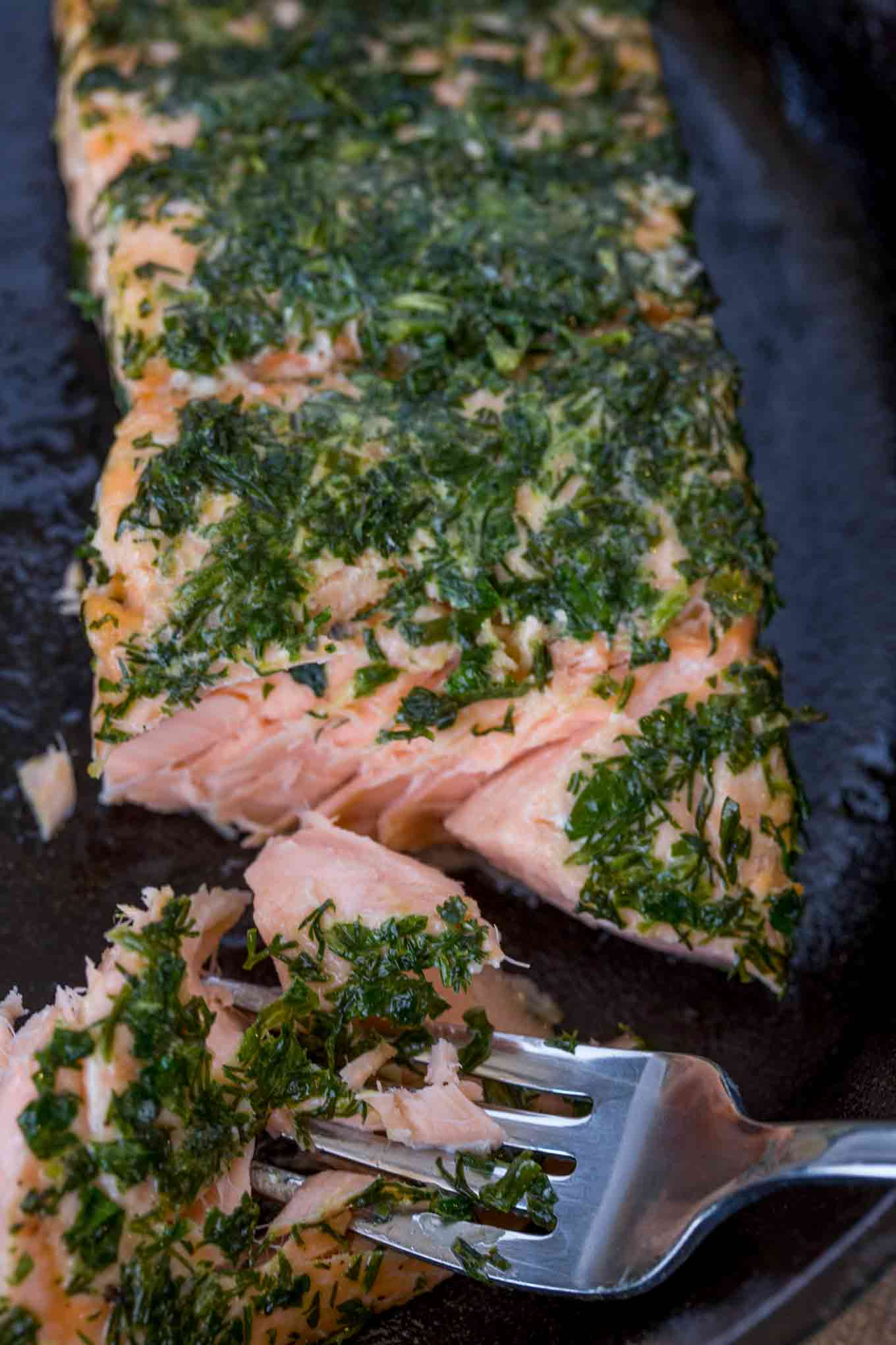 Lemon Dill Salmon center