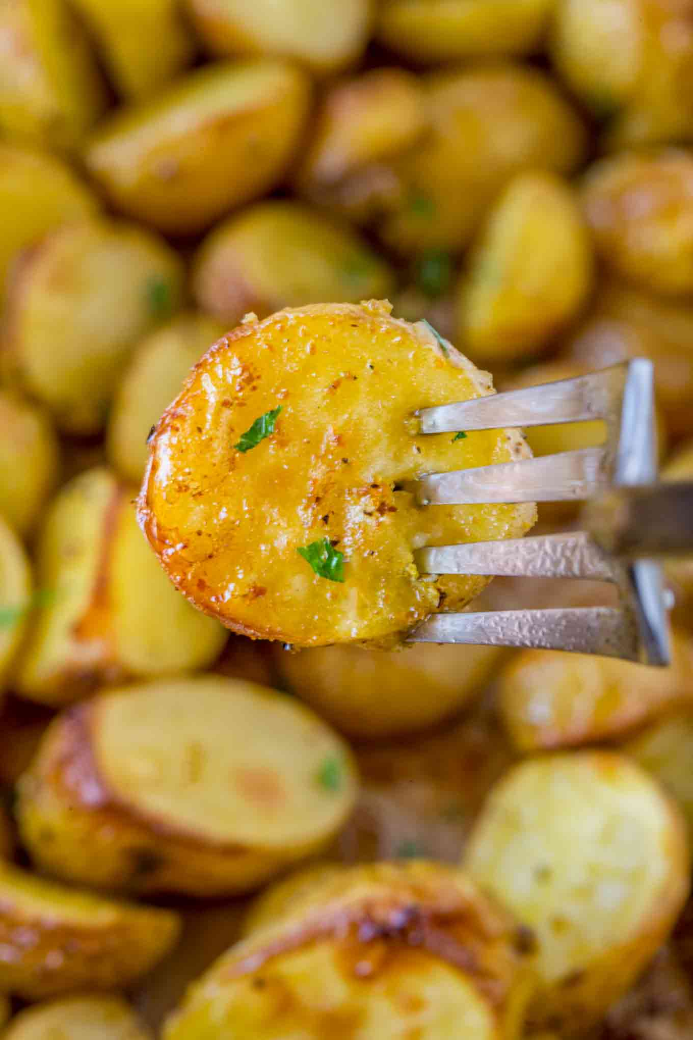 crispy roasted potatoes
