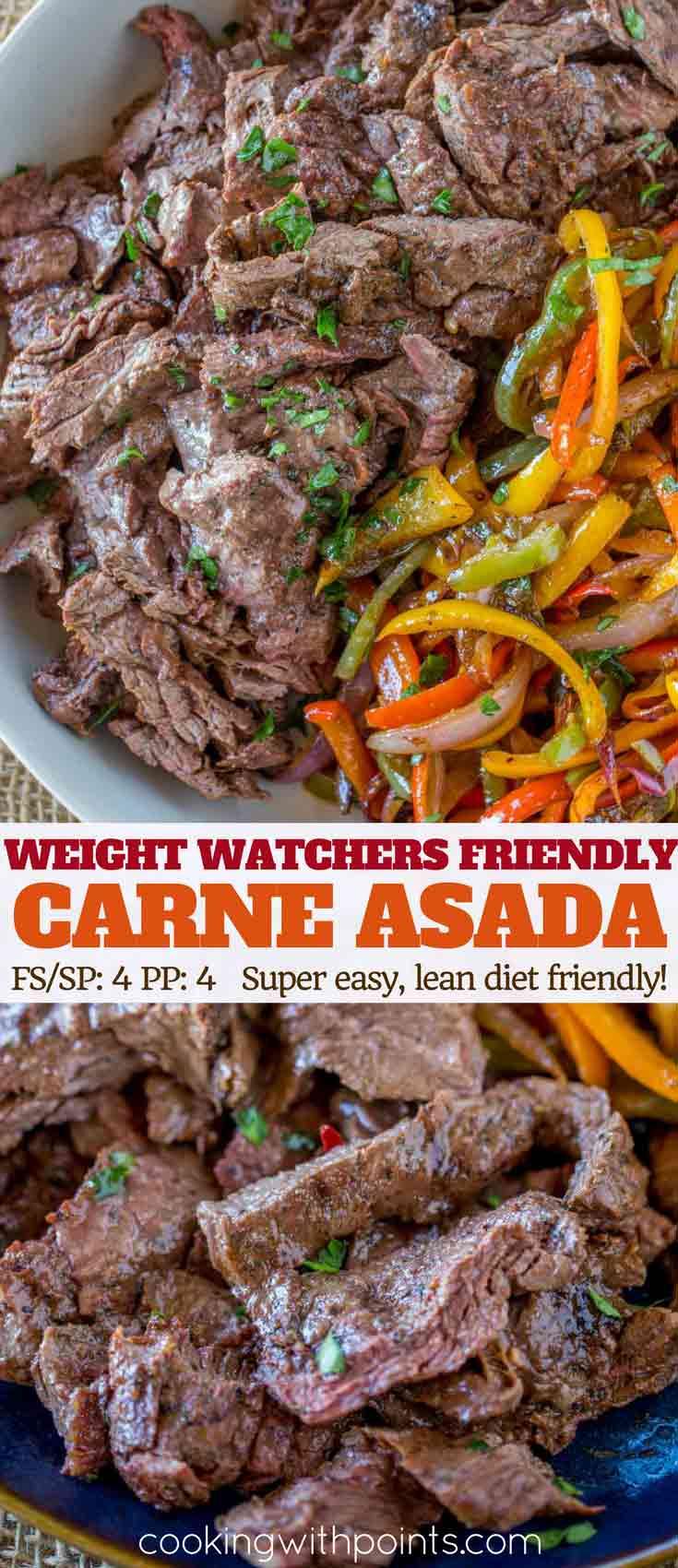 Weight Watchers Carne Asada