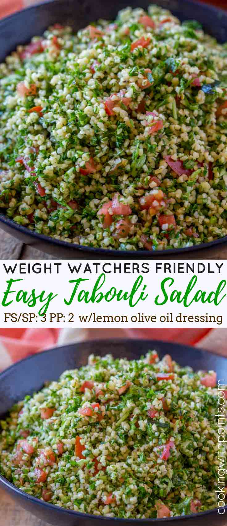 Tabbouleh in bowl pictures