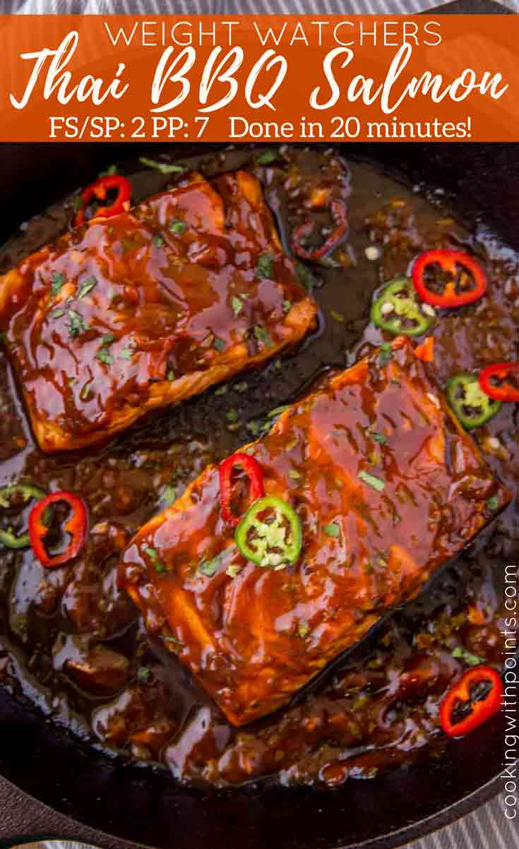 Thai BBQ Salmon