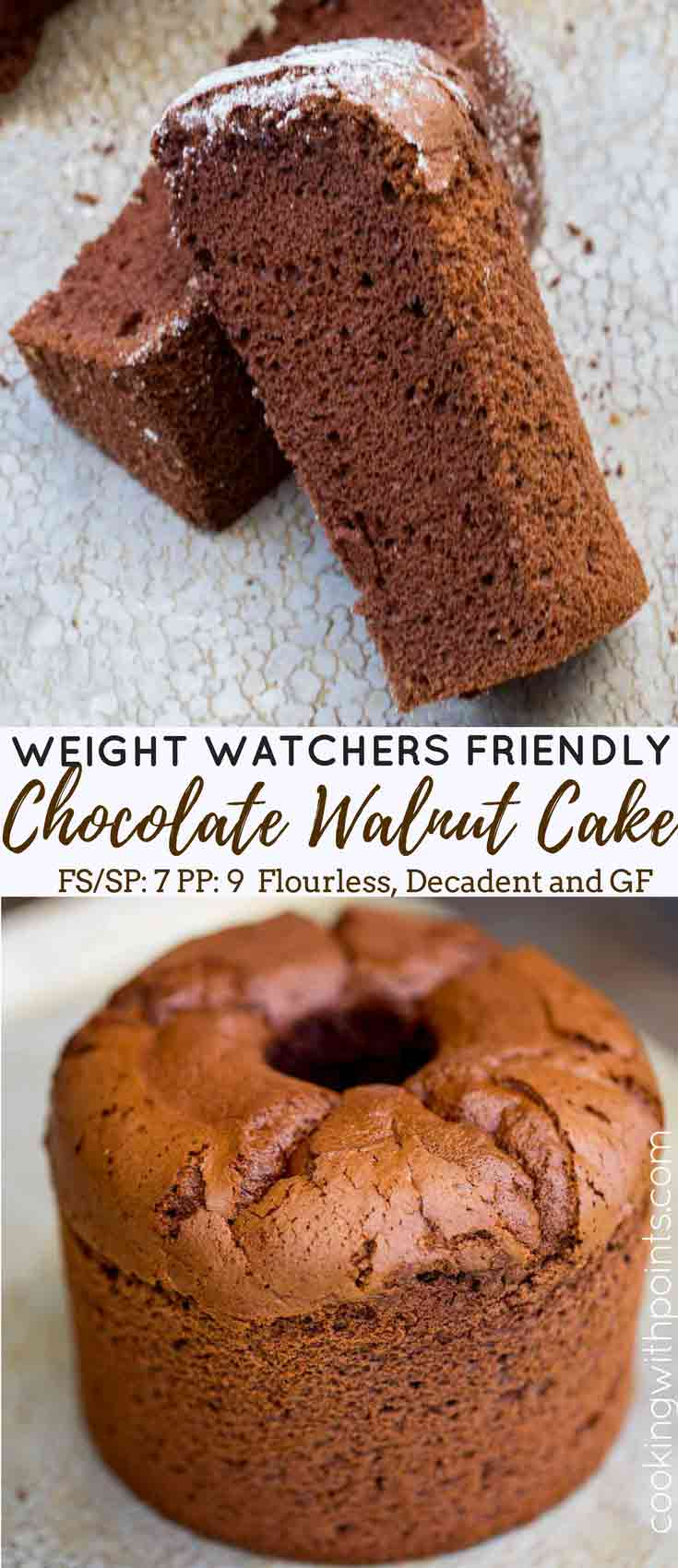 Weight Watchers Flourless Chocolate Cake