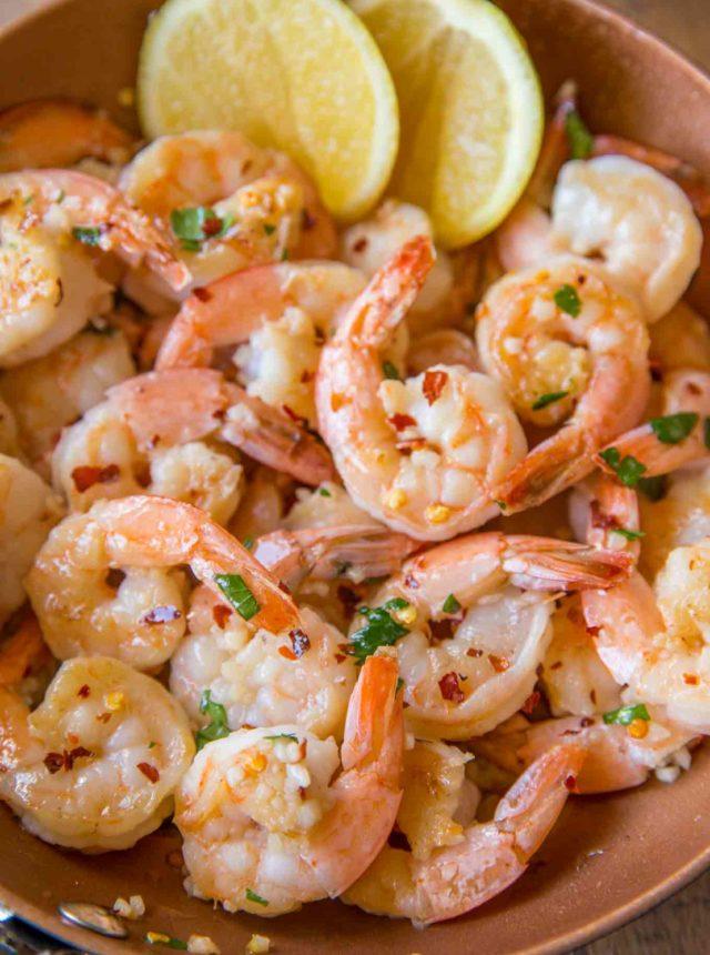 Weight Watchers Shrimp Scampi