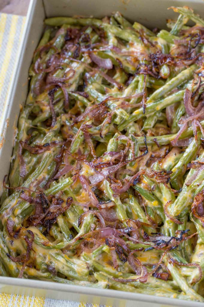 Skinny Green Bean Casserole Recipe
