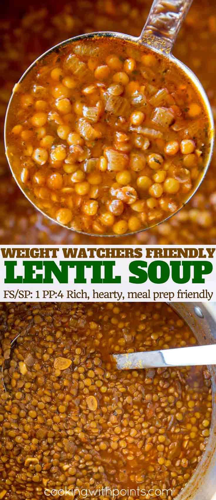 easy classic lentil soup
