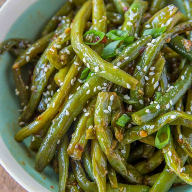 Skinny Chinese Green Beans