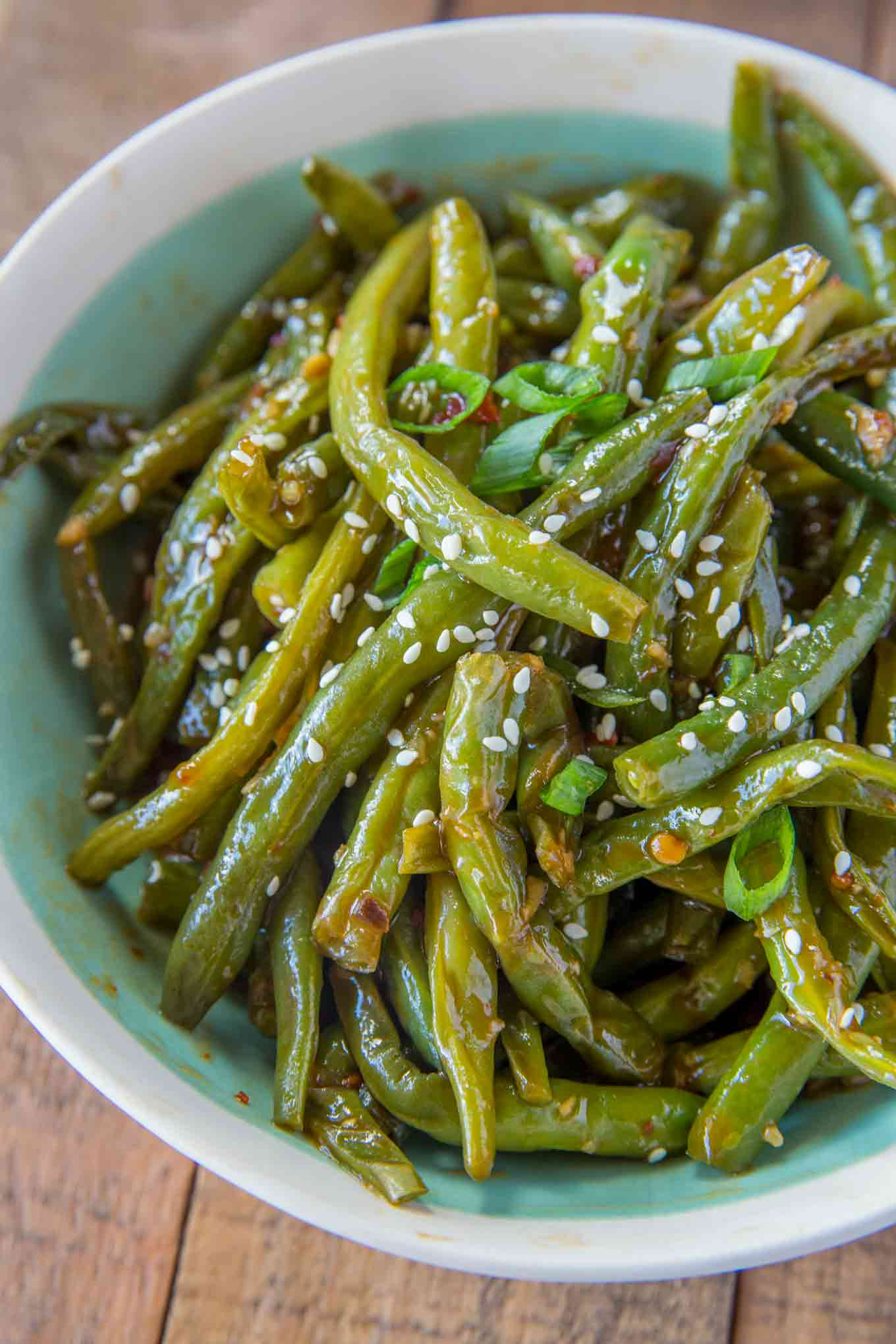 Skinny Chinese Green Beans
