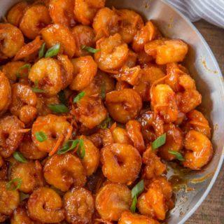 Skinny Chinese Orange Shrimp