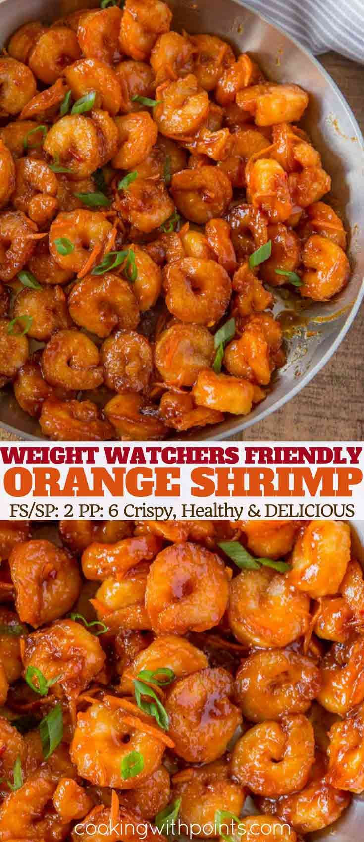 Skinny Chinese Orange Shrimp