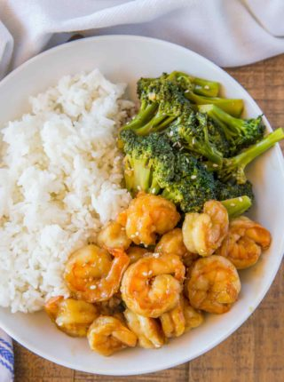 Chinese Shrimp and Broccoli