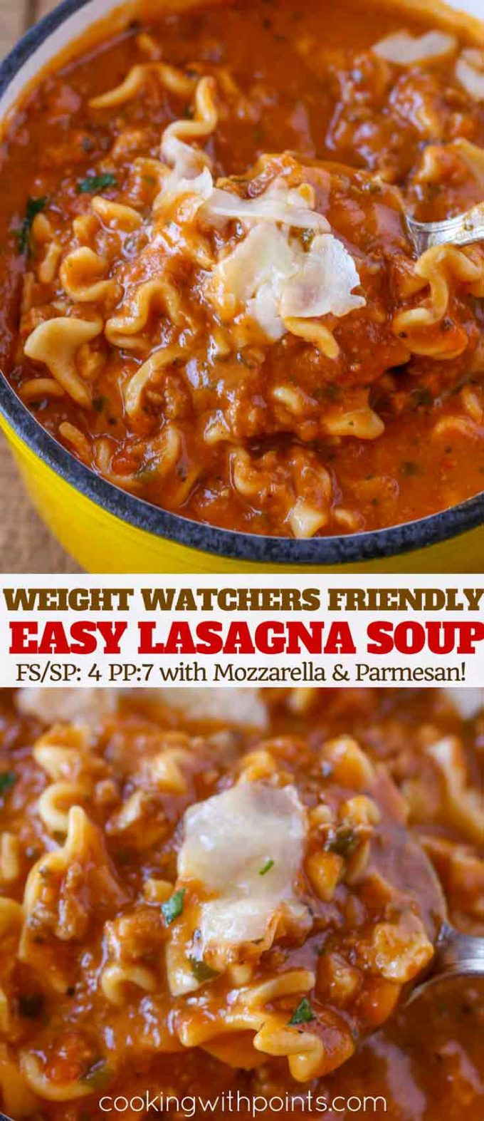 Weight Watchers Lasagna Soup