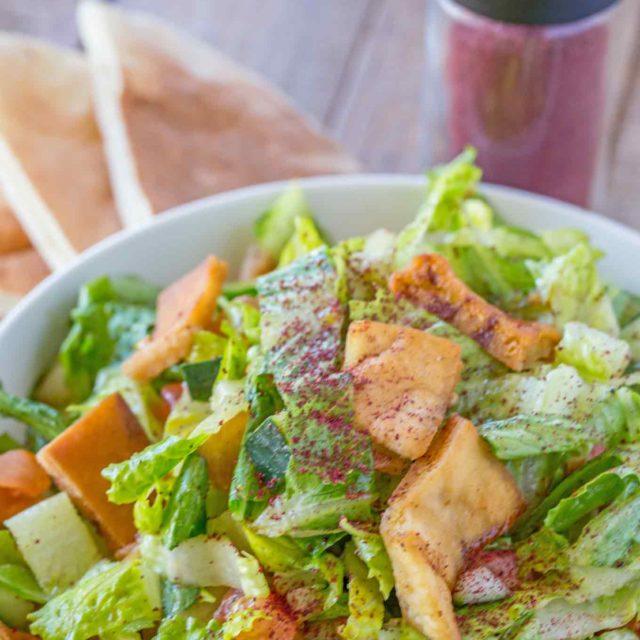 Weight Watchers Fattoush Salad