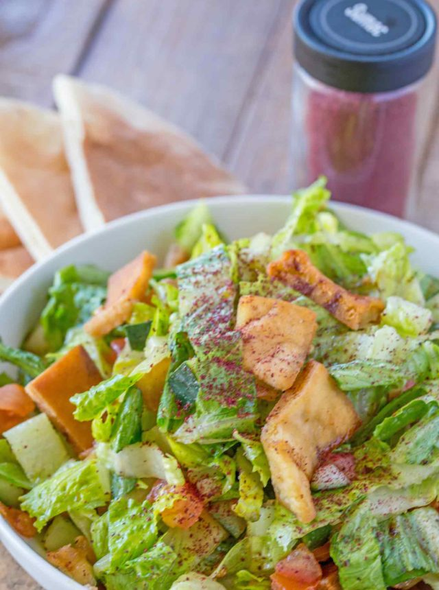 Weight Watchers Fattoush Salad