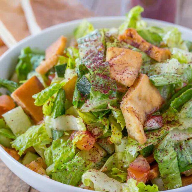 Healthy Fattoush Salad