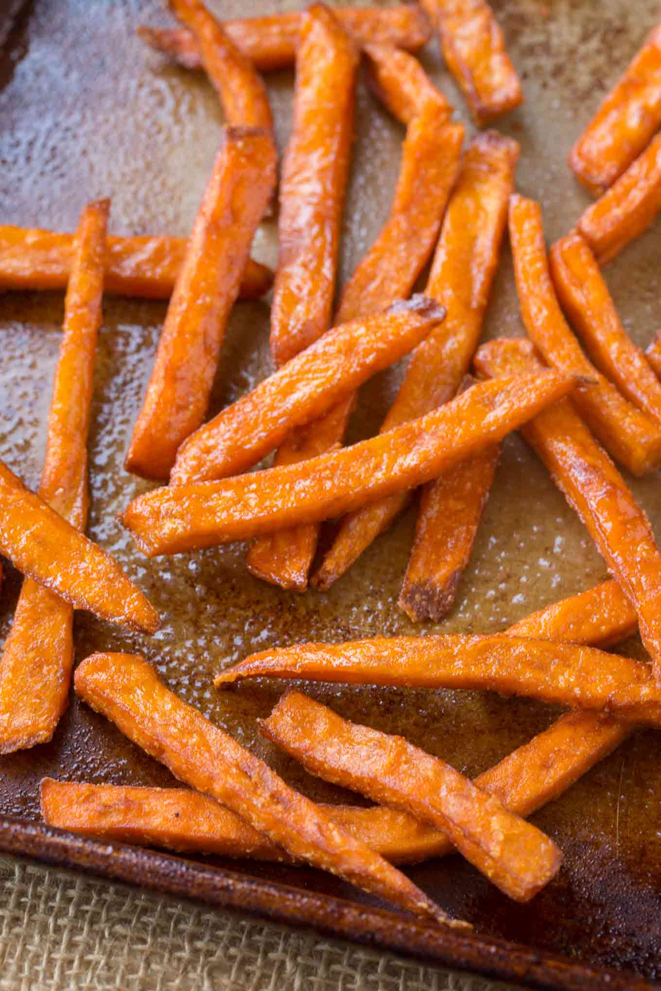 Oven Baked Sweet Potato Fries Cooking Made Healthy