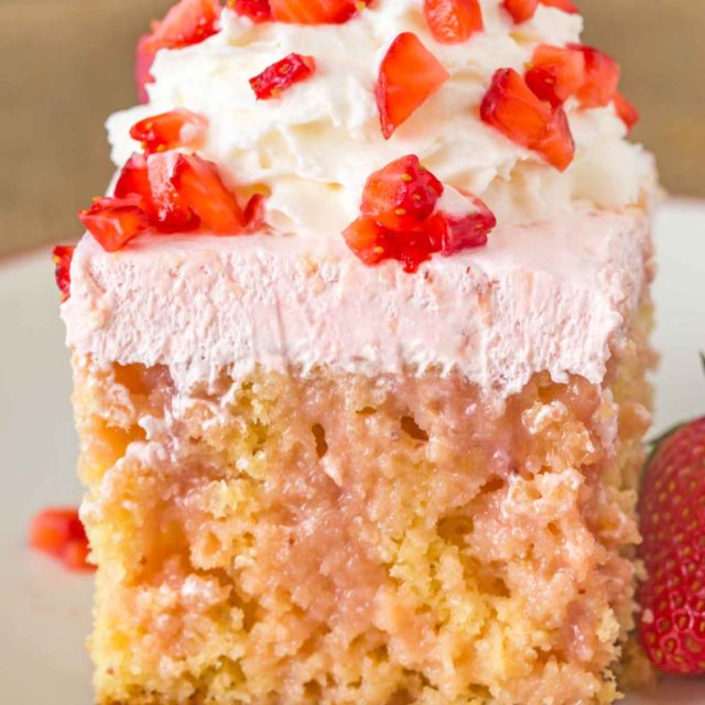 Weight Watchers Summery Strawberry Cake