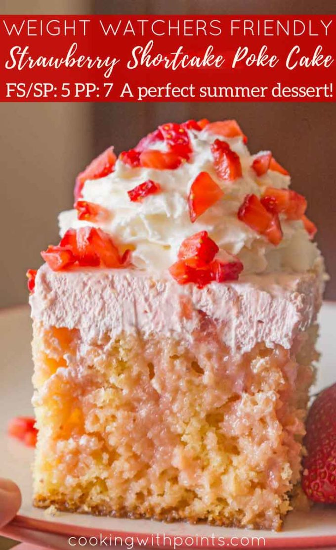 Weight Watchers Strawberry Shortcake Cake