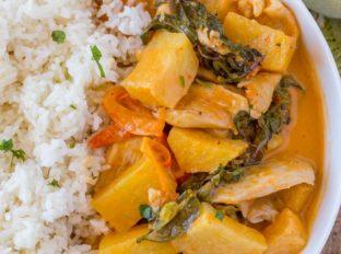 Thai Chicken Pineapple Curry