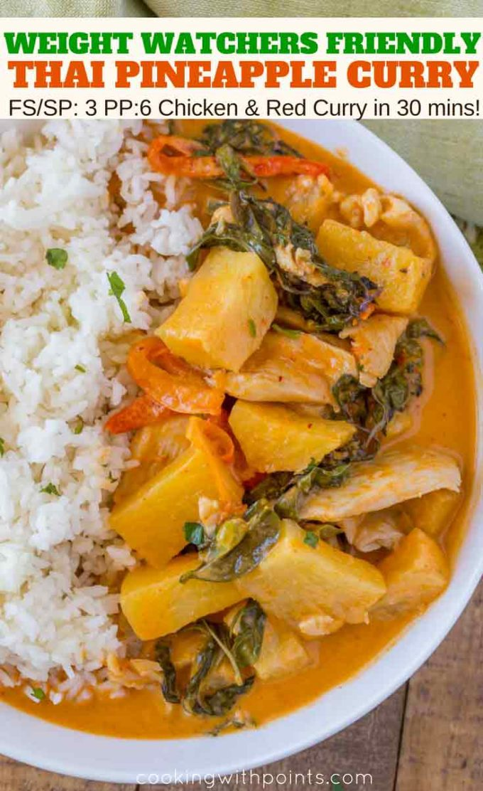 Thai Pineapple Curry with Red Curry