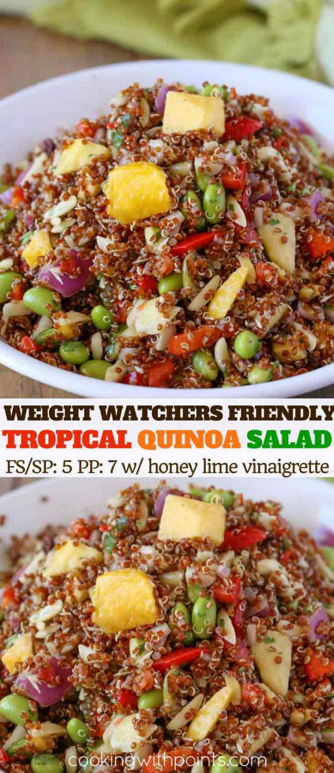 Quinoa Salad with Pineapple and Mango