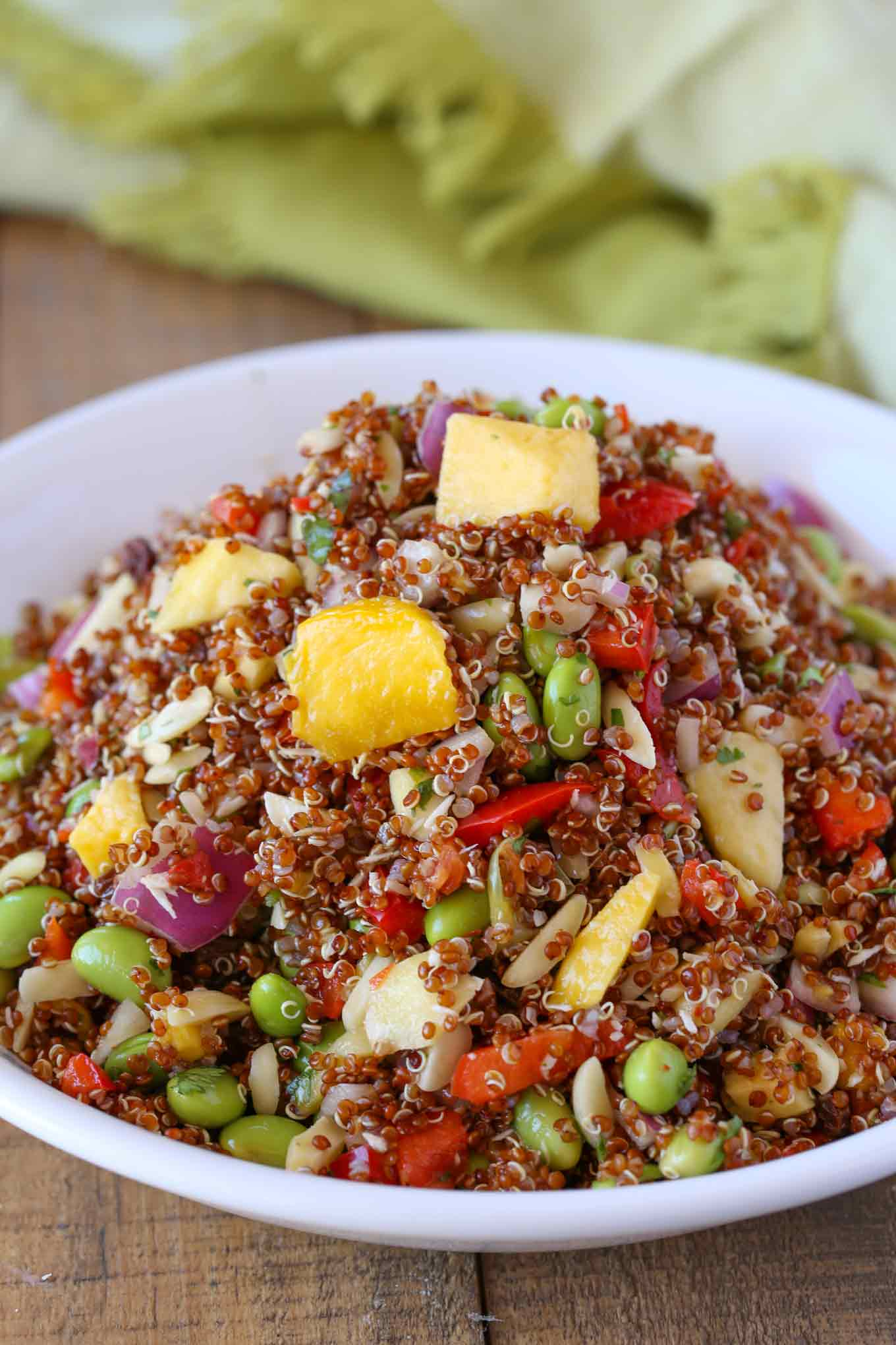 Tropical Quinoa Salad Cooking Made Healthy