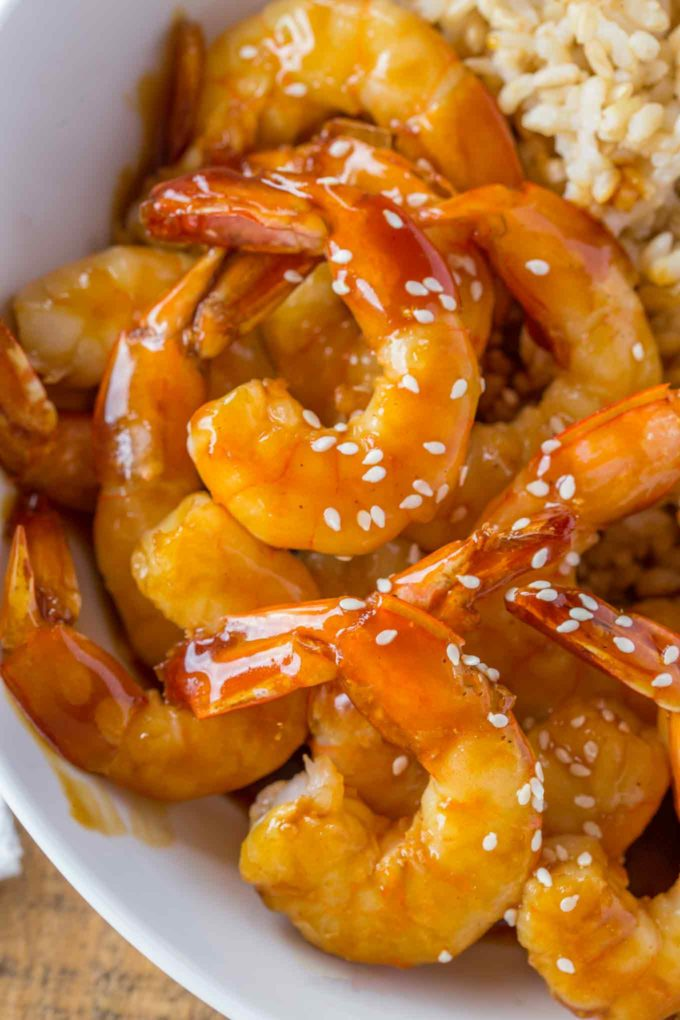 Weight Watchers Teriyaki Shrimp