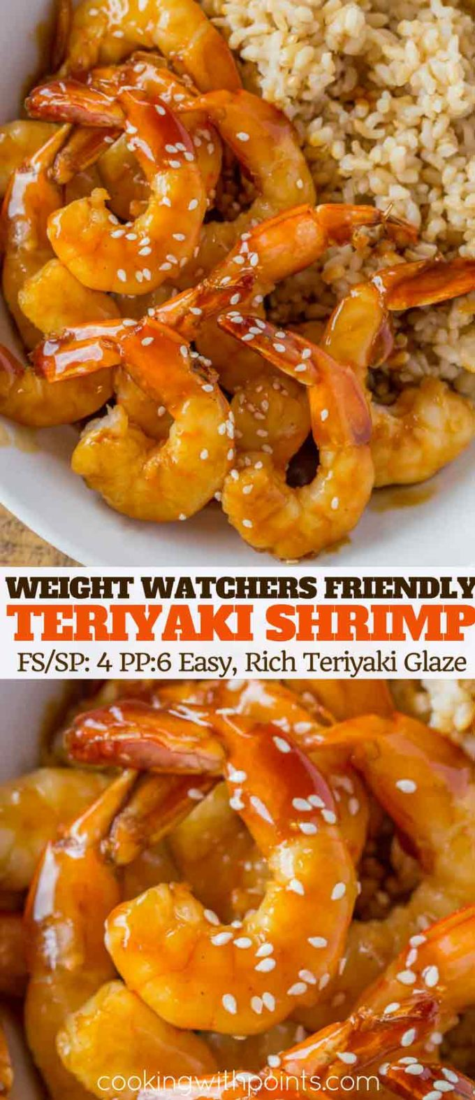Skinny Teriyaki Shrimp