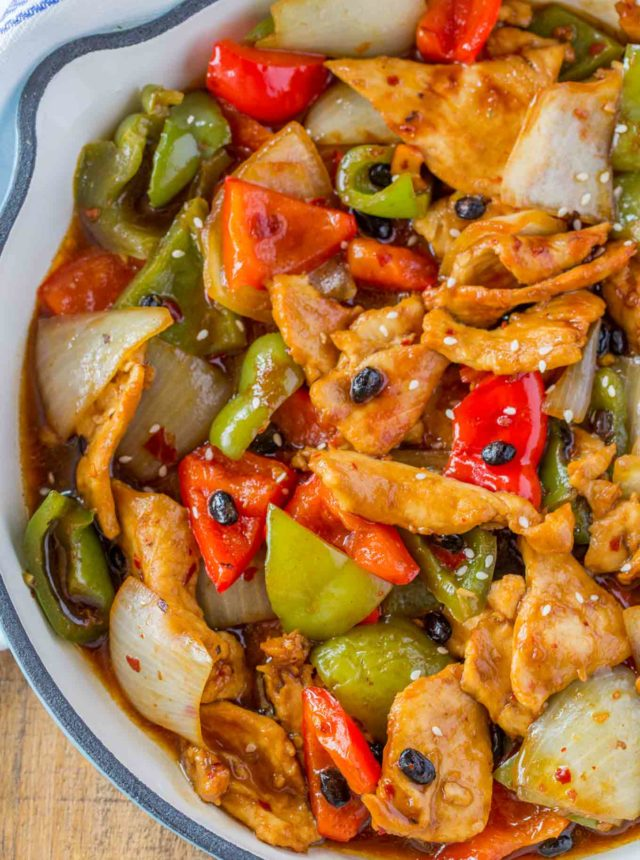 Chinese Black Bean Chicken Recipe