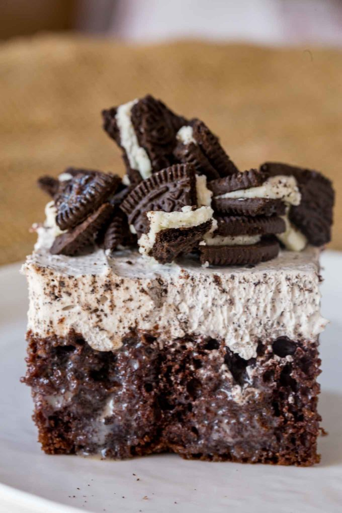 Oreo Cake with Oreo Whipped Topping