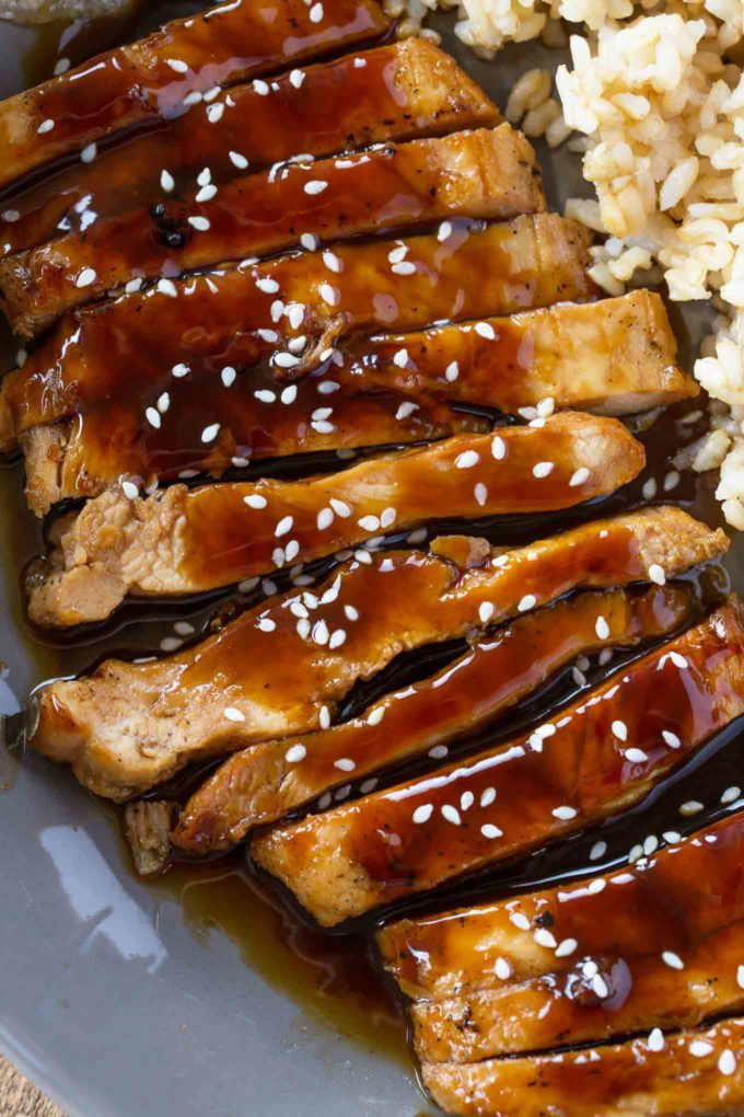 Easy Skinny Chicken Teriyaki