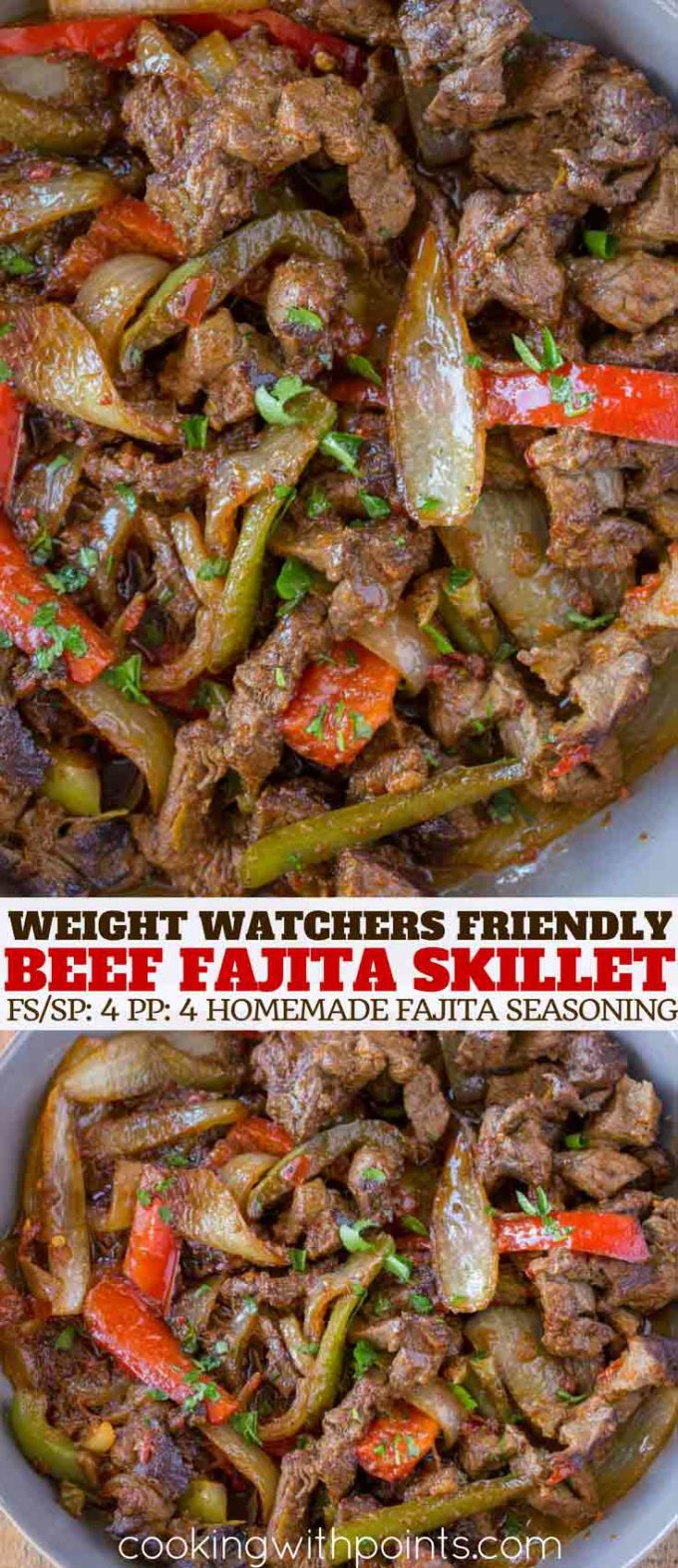 Weight Watchers Beef Fajitas