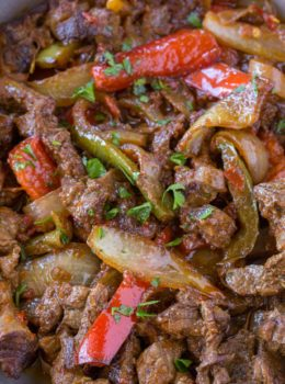 Healthy Beef Fajitas Recipe