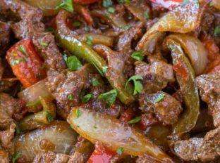 Healthy Beef Fajitas Recipe