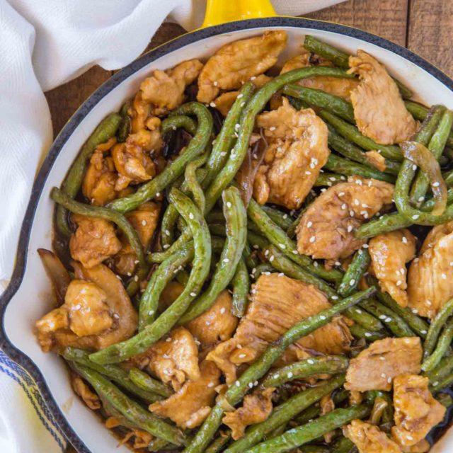 Weight Watchers Chicken and Green Bean Stir Fry
