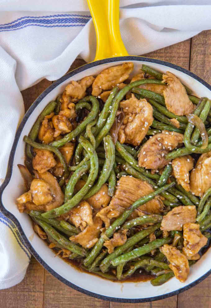 Weight Watchers Chicken and Green Bean Stir Fry