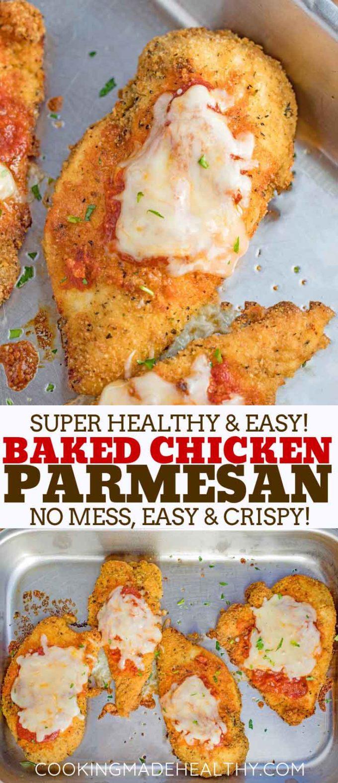 Easy Skinny Chicken Parm