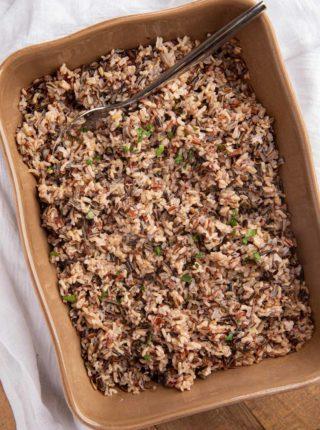 Baked Wild Rice