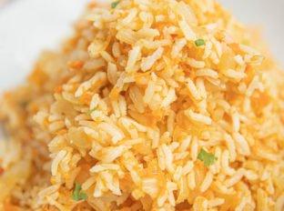 Carrot Rice in Bowl