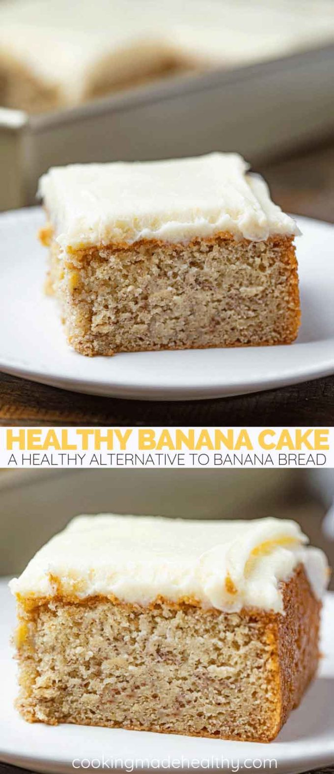Healthy Banana Cake Pin