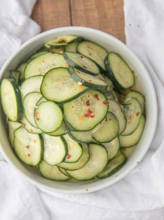Quick Korean Pickles