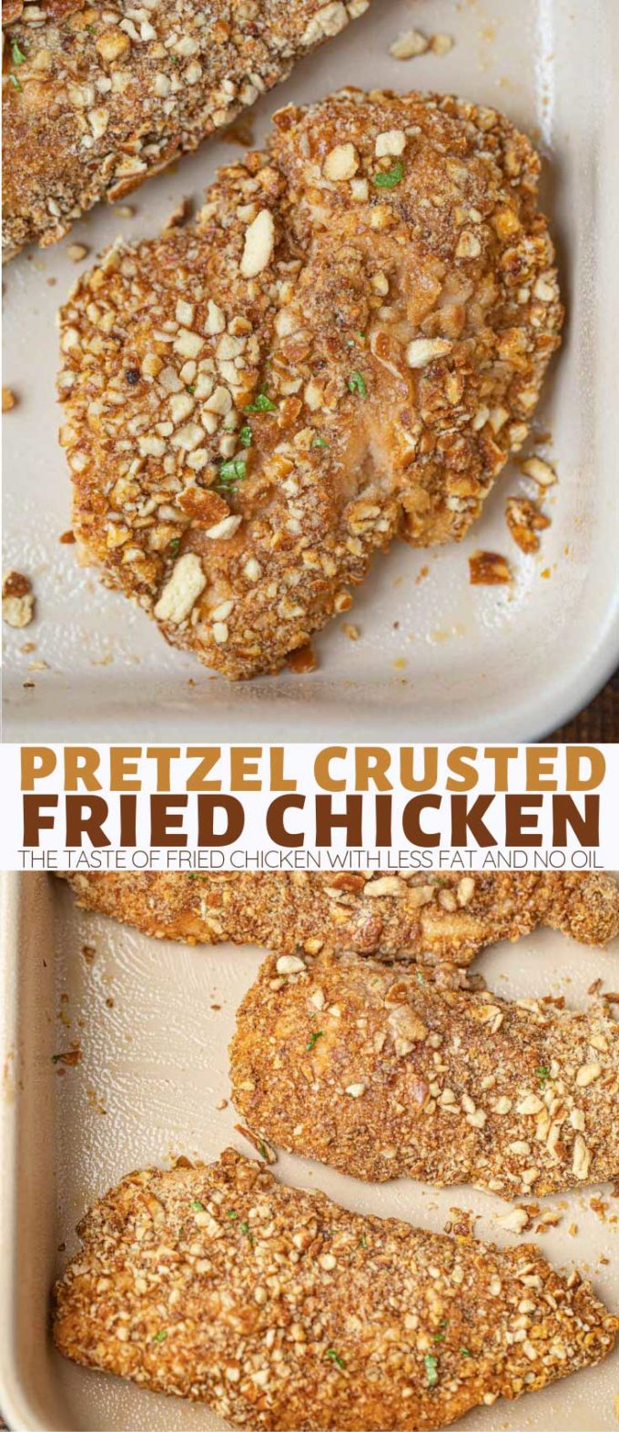 Pretzel Baked Chicken