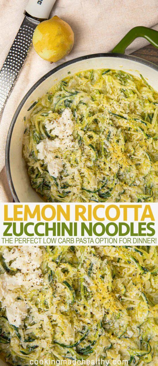 Lemon Ricotta Noodles
