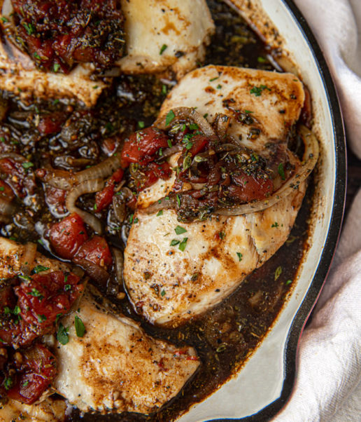 Braised Balsamic Chicken